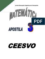 Matemática - CEESVO - apostila3