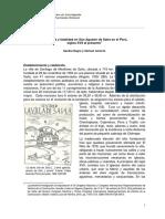 Opulencia y Fatalidad en San Agustin de Saña1
