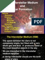 Interstellar Medium lecture