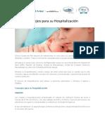 Consejos Para Tu Hospitalización (Maternidad)