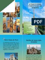 Revista Atracciones Turisticas De Europa