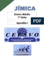 Química - CEESVO - apostila1
