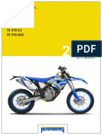 2012 Owners Manual - Husaberg FE 390 450 570 EU AUS
