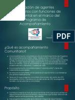 Formacion de Agentes Comunitarios Con Funciones de Salud.