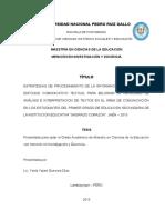 Proyecto de Investigacion Ysela