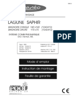 LAGUNE SAPHIR Mars 2016 Baignoire Balnéo NOTICE (2)