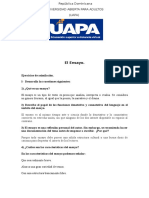 Tarea #5, Español II. r.
