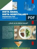 Dieta Basal y Hospitalaria