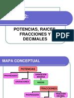 Resumenunidad2-Potenciasraicesfraccionesydecimales