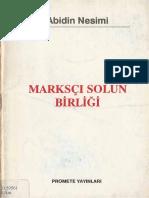 Abidin Nesimi - Marksçı Solun Birliği Promete Yayınları.pdf