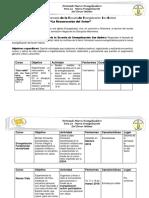 Plan de Actividades Pastorales de La EESA_RESURRECCION DEL SEÑOR_2018