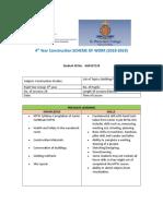 4th yr construction scheme