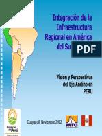 Iirsa Peru