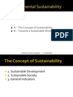 Lecture 2 - Environmental Sustainability
