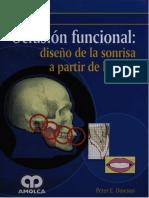 Oclusión Funcional_ Diseño de la sonrisa a partir de la ATM  PETER E. DAWSON.pdf