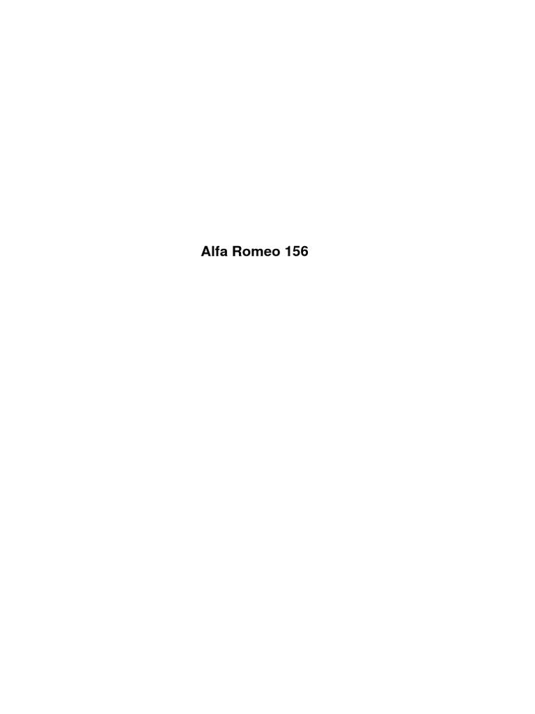 HOSENROHR ALFA 156 2.5 V6 24V *LINKS* AUCH SPORTWAGON