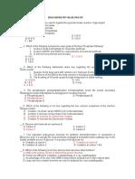 Biochemistry Answer Key-BLUE PACOP.doc