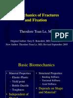 Biomechanics of Fractures