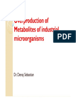 Over Production of Metabolites and Its Regulation