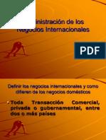 Administracion Negocios Internacionales