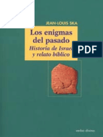 Los Enigmas Del Pasado Jean Louis Ska Sj