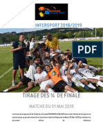 Tirage des quart de finales de la coupe Intersport
