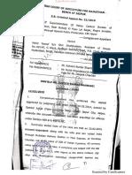 Rajasthan High Court Judgment on Deportation of Pakistani National