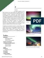 Aurora Polar – Wikipédia, A Enciclopédia Livre