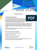 Reglamento General Bim2019