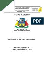 SIAPS Informe Técnico Evaluación Almacen Central