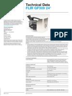 FLIR GF309 24 Deg. Datasheet