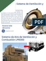 Entrenamiento CFE - LM6000 - Sistema de Aire de Ventilación y Combustión R1