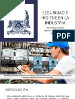 Seguridad e Higiene en La Industria