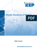 Weather Resistance of Plastics en(1508 R3)