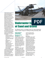 Underwater Extraction of Sand and Gravel 0