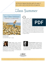 Sea Glass Summer by Michelle Houts Author's Note
