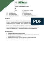 Informatica Basica Temario