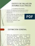 MANTENIMIENTO en Sistemas Electricos.