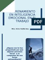 Entrenamiento en Inteligencia Emocional Trabajo