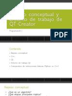 induccion al entorno QT Creator