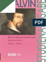 Calvin, Eberhard Busch u.a. (Hg.) - Calvin-Studienausgabe, Band 1. Reformatorische Anfänge (1533-1541), 2 Teilbände-Neukirchener Verlag (1994).pdf