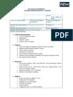 Bitacora de Nanofibras PEO/Ce(III)