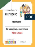 Certificado Ebd Infantil v3