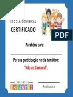 Certificado Ebd Infantil v5