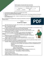 Prueba unidad I Lenguaje y Comunicación Cuarto año básico 2016.docx