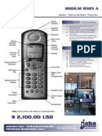 Iridium 9505 Telefono Satelital Mexico