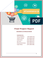 E-commerce Final Project report