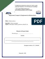 Guide de Préparation Du Mémoire Projet d'Étude MACP-14 Nov-2018