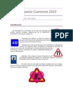 Catequesis-Cuaresma- DIOCESIS DE MALAGA
