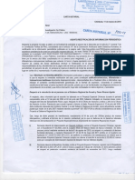 Carta notarial José Manzo